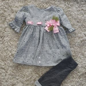 Sweet Heart Rose 3-6M outfit